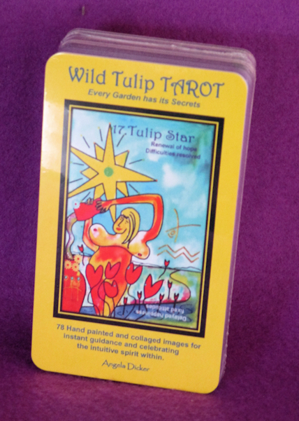 shop securely with PayPal for Angela Dicker's Wild Tulip Tarot
